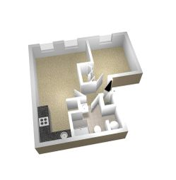 Thumbnail 1 bed flat for sale in Harvest Bank, Carterton
