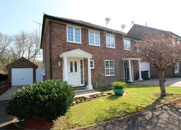 Thumbnail 3 bedroom end terrace house for sale in The Glades, East Grinstead, West Sussex