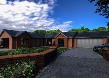 Thumbnail 4 bed detached bungalow for sale in West Grove, Lower Heswall, Wirral