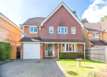 Thumbnail 4 bed detached house for sale in Butler Road, Bagshot, Surrey