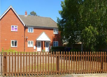Thumbnail 2 bed terraced house for sale in Laburnum Close, Red Lodge, Bury St. Edmunds
