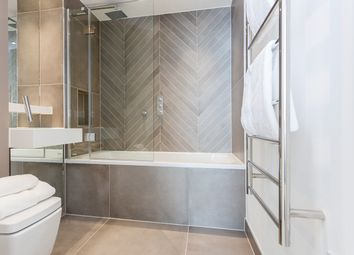 Thumbnail 1 bed flat to rent in 28 Quebec Way, London