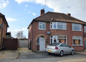 Thumbnail 3 bed semi-detached house for sale in Alfreton Road, Wigston, Leicestershire