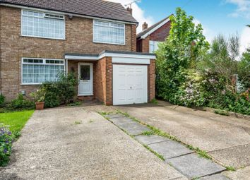 Thumbnail 4 bed semi-detached house for sale in Chatteris Close, Luton