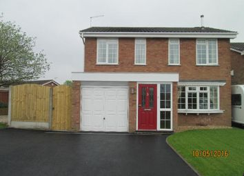 Thumbnail 4 bed detached house to rent in Stretton Avenue, Stafford
