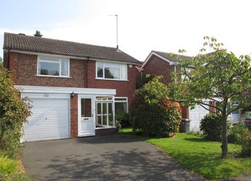 Thumbnail 4 bed detached house to rent in Church Hill Close, Solihull