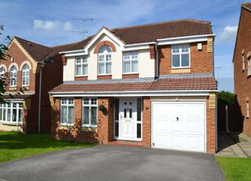 Thumbnail 4 bed detached house to rent in Whisperwood Drive, Woodfield Plantation, Doncaster