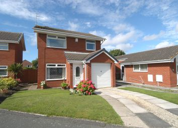 Thumbnail 3 bed detached house for sale in Redford Close, Greasby, Wirral