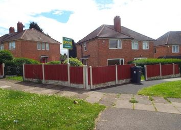 Thumbnail 3 bed semi-detached house for sale in Norbury Road, Birmingham, West Midlands