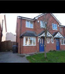 Thumbnail 3 bed semi-detached house for sale in Grimshaw Court, Golborne, Warrington