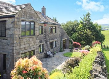 Thumbnail 5 bedroom barn conversion for sale in Hogley Lane, Holmfirth