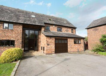 Thumbnail 5 bed barn conversion for sale in Holcroft Lane, Culcheth, Warrington