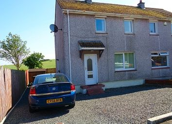 Thumbnail 2 bed semi-detached house for sale in 16 Harbour Terrace, Drummore, Stranraer