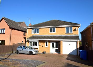 Thumbnail 4 bed detached house for sale in Rowan Close, Haverhill