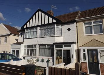 Thumbnail 3 bed terraced house for sale in Swiss Road, Ashton, Bristol