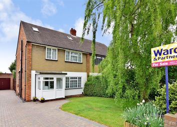 Thumbnail 4 bed semi-detached house for sale in Stangate Road, Rochester, Kent