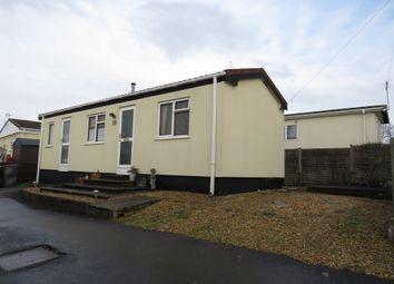 Thumbnail 1 bedroom mobile/park home for sale in Drake Avenue, Ringswell Park, Exeter