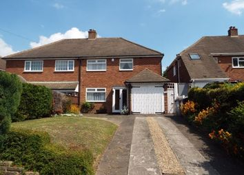Thumbnail 3 bedroom semi-detached house for sale in Hob Moat Road, Solihull, West Midlands
