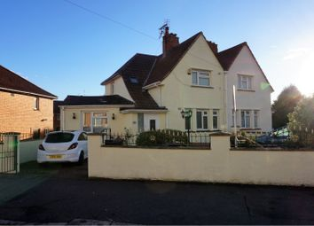 Thumbnail 4 bed semi-detached house for sale in Bideford Crescent, Knowle