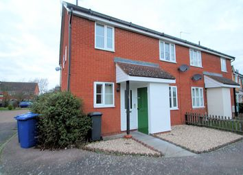 Thumbnail 2 bedroom terraced house to rent in Hepworth Avenue, Bury St Edmunds, Suffolk