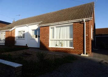 Thumbnail 2 bed semi-detached bungalow for sale in Churchill Avenue, Ipswich