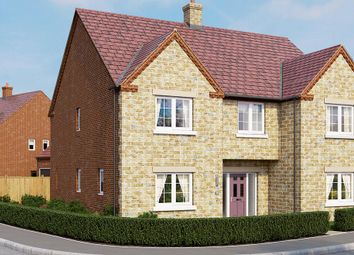 "Thumbnail 5 bed detached house for sale in ""The Oakham"" at Boughton Road, Moulton, Northampton"