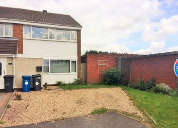 Thumbnail 3 bed end terrace house for sale in Russett Close, Burntwood