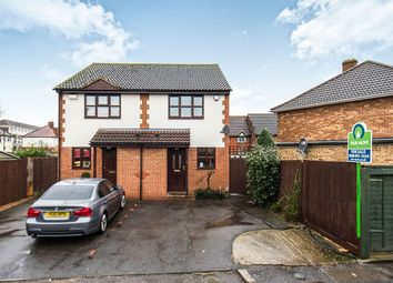 Thumbnail 2 bed semi-detached house for sale in Trevor Close, Isleworth
