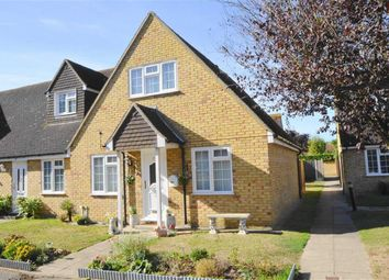 Thumbnail 2 bedroom end terrace house for sale in Moat Croft, Shoeburyness, Essex