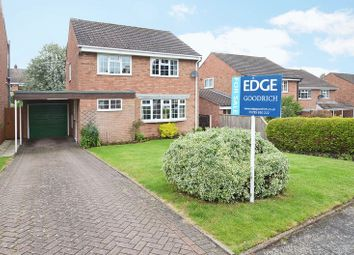 Thumbnail 4 bed detached house for sale in 12 Badgers Croft, Eccleshall, Staffordshire