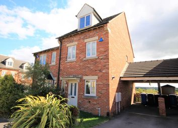 Thumbnail 3 bed semi-detached house for sale in Cambourne Place, Mansfield