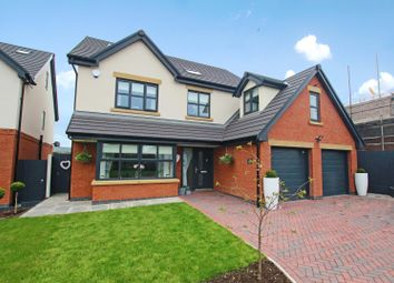 Thumbnail 5 bed detached house for sale in Hollins Park Gardens, Forton, Preston