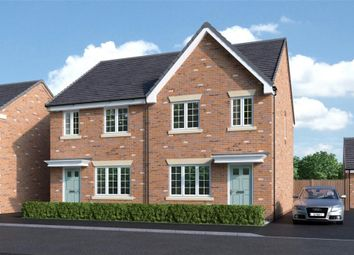 """Thumbnail 3 bed semi-detached house for sale in """"Stretton"""" at Back Lane, Somerford, Congleton"""