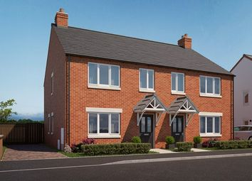 Thumbnail 3 bed property for sale in 3 Bedroom Houses, Plough Gardens, Ravenstone, Leicestershire