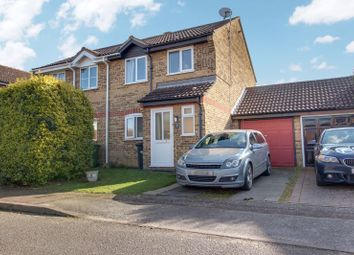 Thumbnail 3 bed semi-detached house to rent in Arundel Crescent, Eynesbury, St Neots