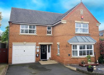 Thumbnail 4 bed detached house for sale in Crabtree Road, Walsall