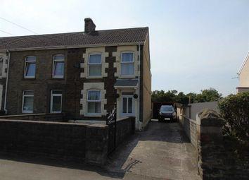 Thumbnail 2 bed end terrace house for sale in Llanerch Road, Bonymaen, Swansea