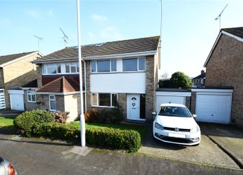 Thumbnail 3 bed semi-detached house for sale in Dahlia Drive, Swanley, Kent