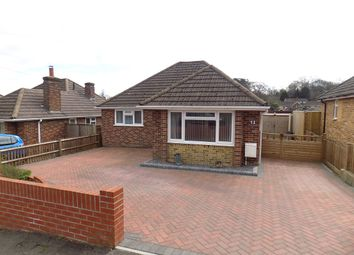 Thumbnail 2 bed detached bungalow for sale in Hillview Road, Hythe