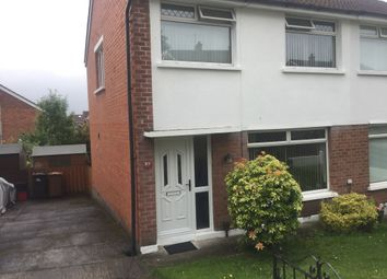 Thumbnail 3 bedroom semi-detached house to rent in Woodbreda Drive, Belfast
