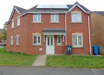 Thumbnail 3 bed semi-detached house to rent in Hansby Close, Oldham, Greater Manchester