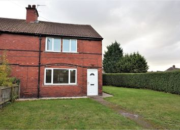 Thumbnail 3 bed end terrace house for sale in West End Lane, Doncaster