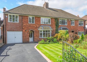 Thumbnail 4 bed semi-detached house for sale in Somersall Lane, Walton, Chesterfield