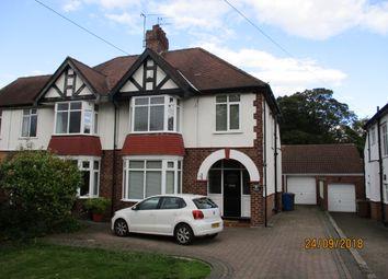 Thumbnail 4 bed semi-detached house to rent in School Lane, Kirk Ella