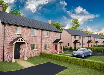 Thumbnail 3 bed semi-detached house for sale in Sutton Road, Walpole Cross Keys, King's Lynn
