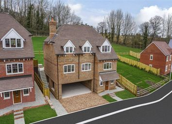 Thumbnail 4 bed detached house for sale in Reed Gardens, Woolhampton, Reading, Berkshire