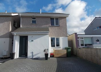 Thumbnail 3 bed detached house for sale in Castle View Close, Redruth