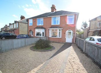 Thumbnail 3 bedroom semi-detached house for sale in Sidegate Lane, Ipswich