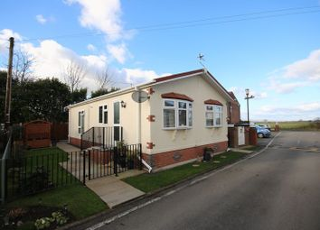 Thumbnail 2 bed mobile/park home for sale in Moss Side Lane, Rixton, Warrington