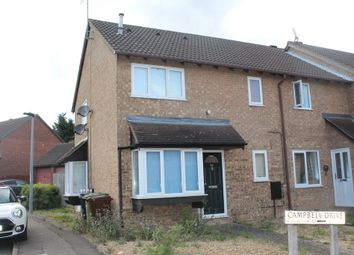 Thumbnail 1 bedroom terraced house for sale in Campbell Drive, Gunthorpe, Peterborough